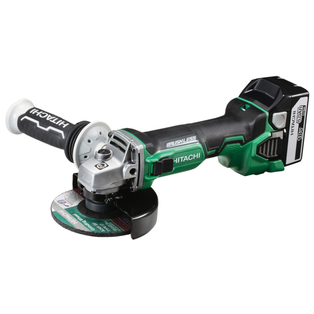 G18DBBVL - SMERIGLIATRICE HITACHI D.125mm 18V. 5Ah. RPM.9000 BRUSH-LESS