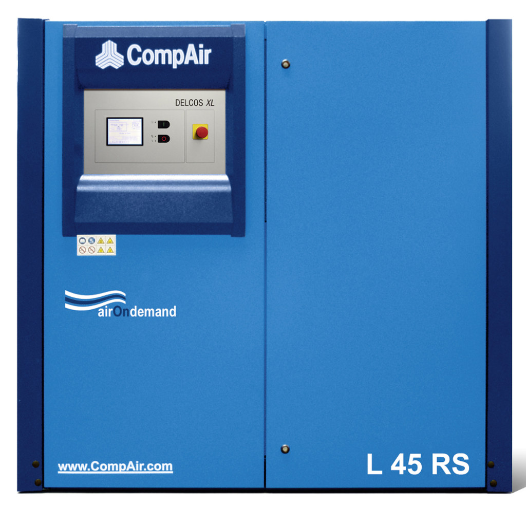 L45RS/13 - ELETTROCOMPRESSORE COMPAIR L45RS-13 13 BAR 45 KW ROTATIVO A VITE SILENZIATO
