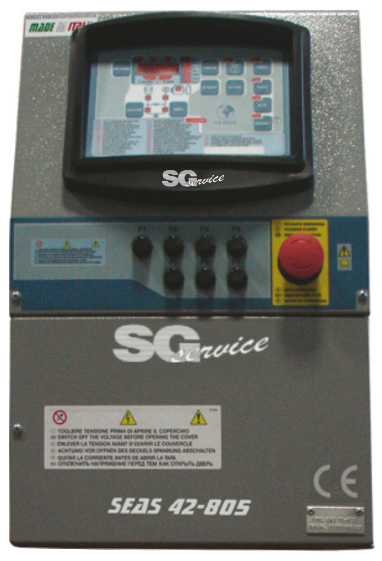 SEAS17 - QUADRO INTERVENTO AUTOMATICO SEAS 17-809