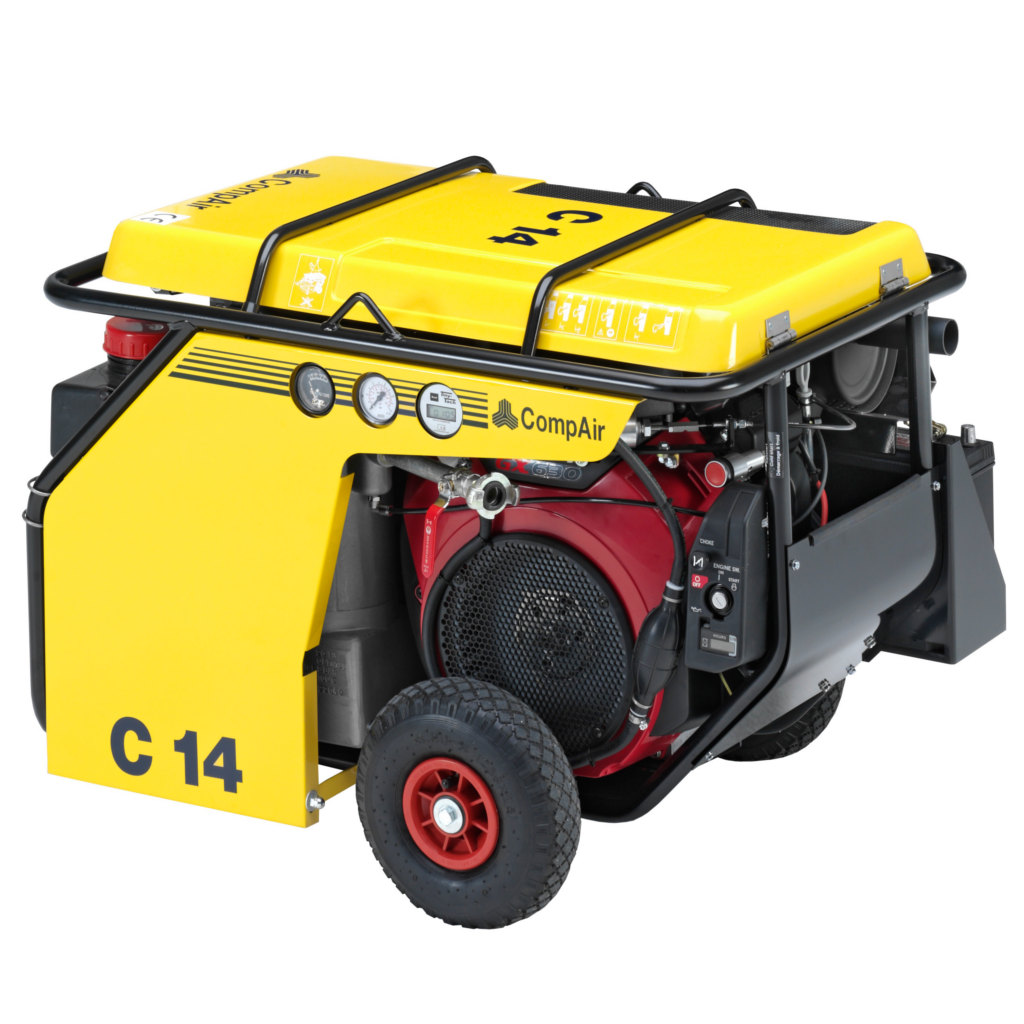 C14 - MOTOCOMPRESSORE COMPAIR C14 LT/MIN 7 BAR